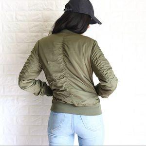 Jackets & Blazers - Padded bomber jacket
